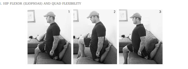 Hip Flexor Stretch 4 hour body