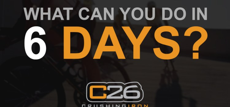 What Can You Do In Six Days?