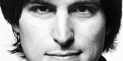 Steve Jobs closeup