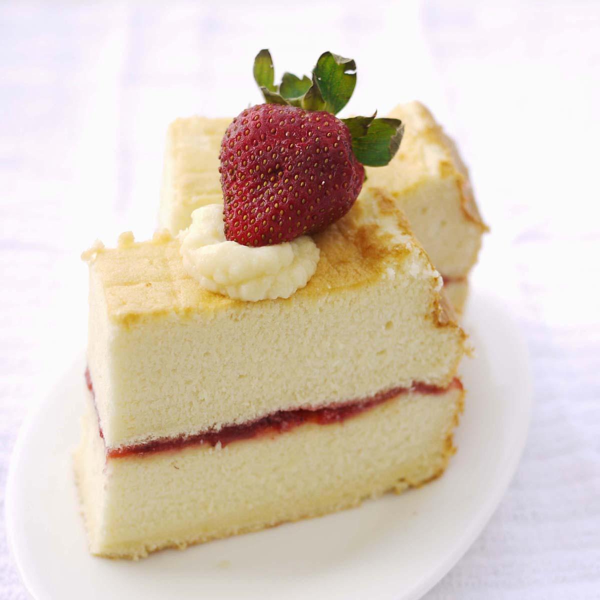 Sponge Cake Crustabakes