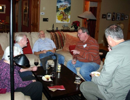 """From a 2012 """"in-home"""" Discussion & Potluck"""