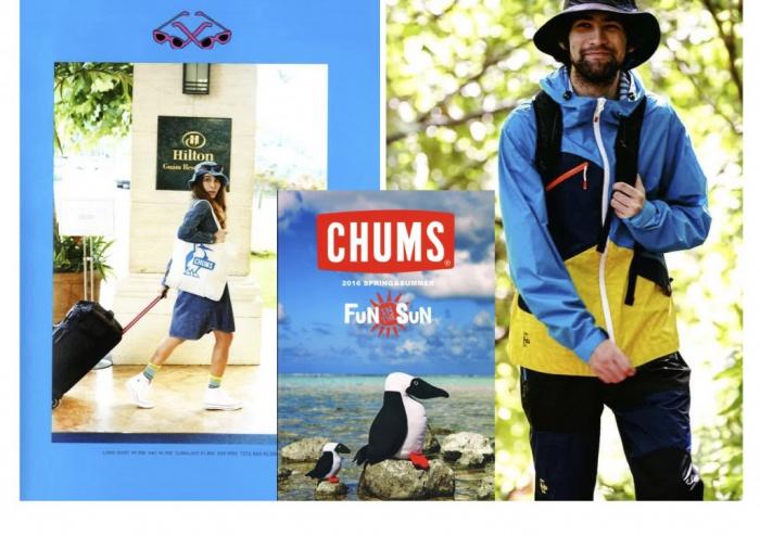 CHUMS 2016 SS