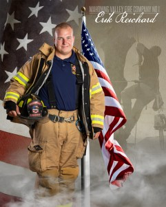 Erik Reichard of Mahoning Valley Fire Company No 1 Photo by: Cruver Photography (www.cruverphotography.com)