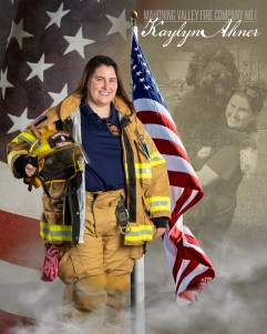 Kaylyn Ahner of Mahoning Valley Fire Company No 1 Photo by: Cruver Photography (www.cruverphotography.com)