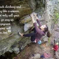 Three Training Myths for Female Climbers