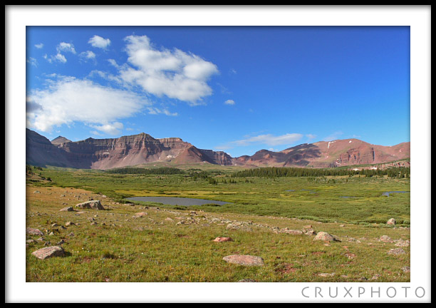 Kings Peak Backpacking Trip.  Copyright Nate Young and Crux Photo.