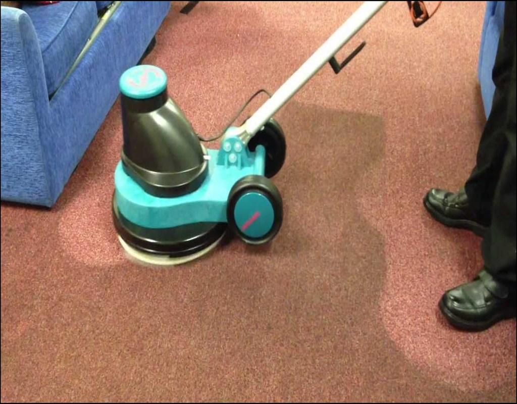 Carpet Cleaning Bonnet Method