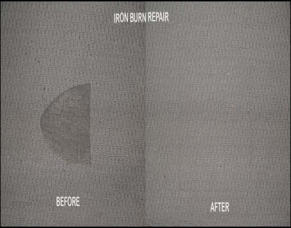 Iron Burn Carpet Repair