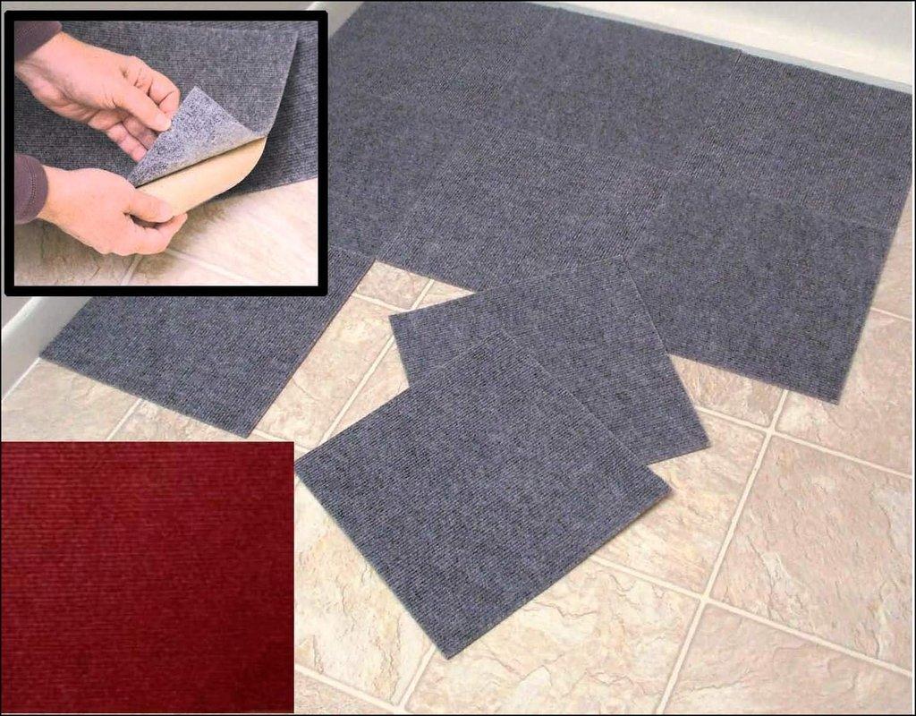 Peel And Stick Carpet Squares
