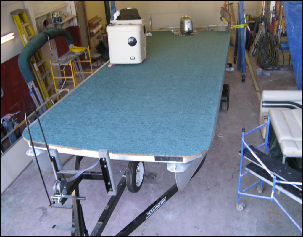 Pontoon Boat Carpet Replacement