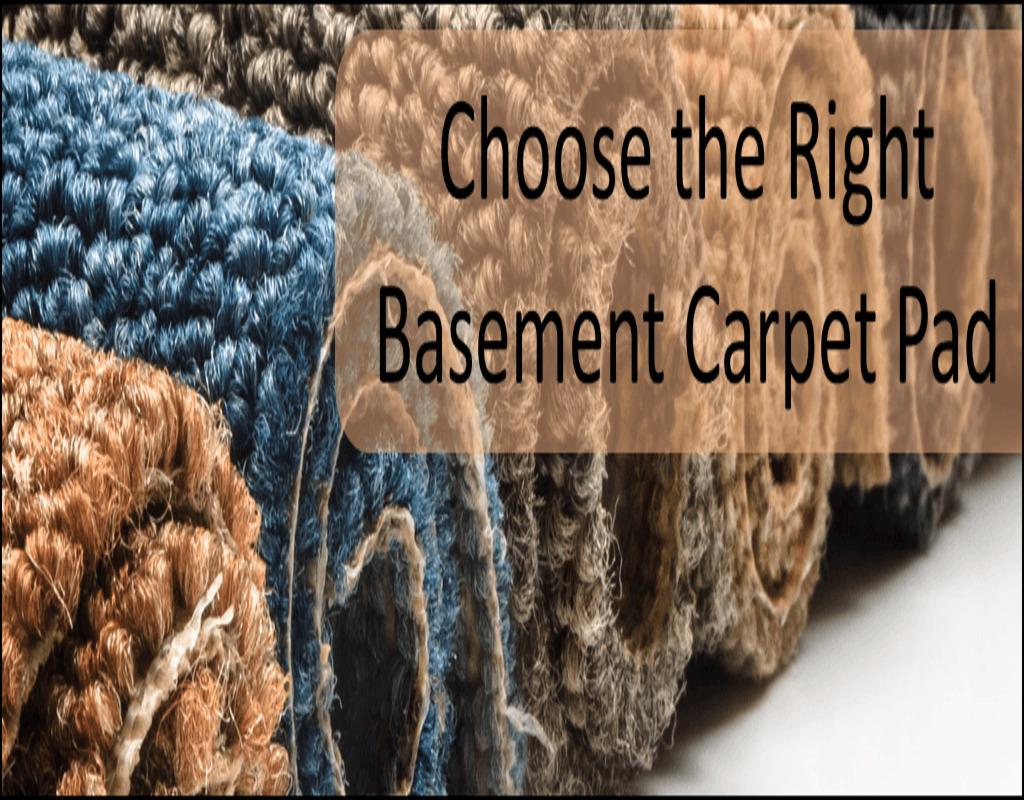 Waterproof Carpet Pad Basement