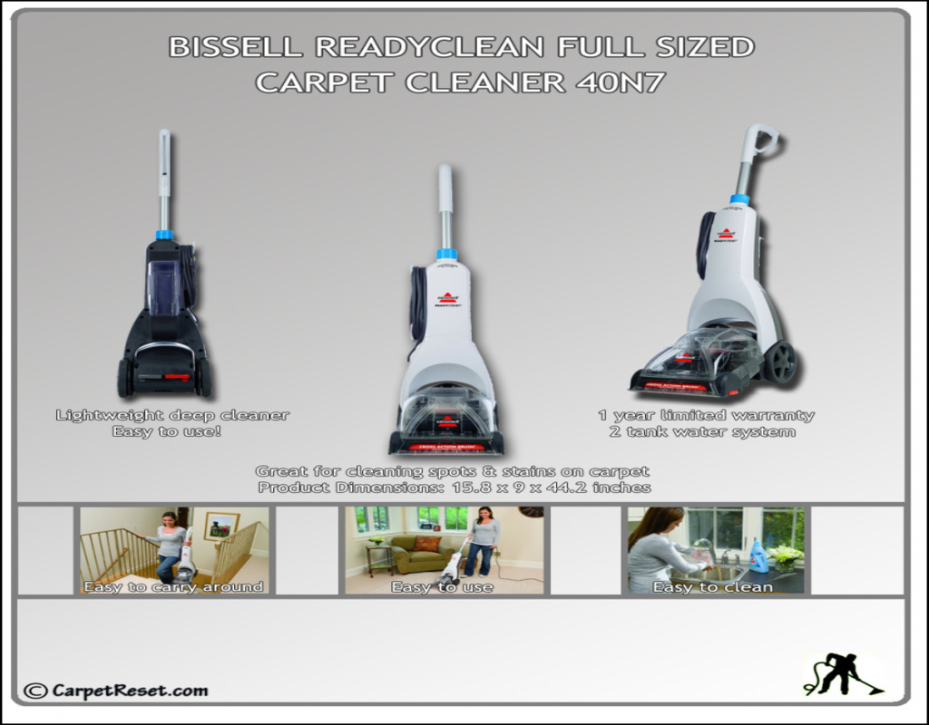 Bissell Ready Clean Carpet Cleaner