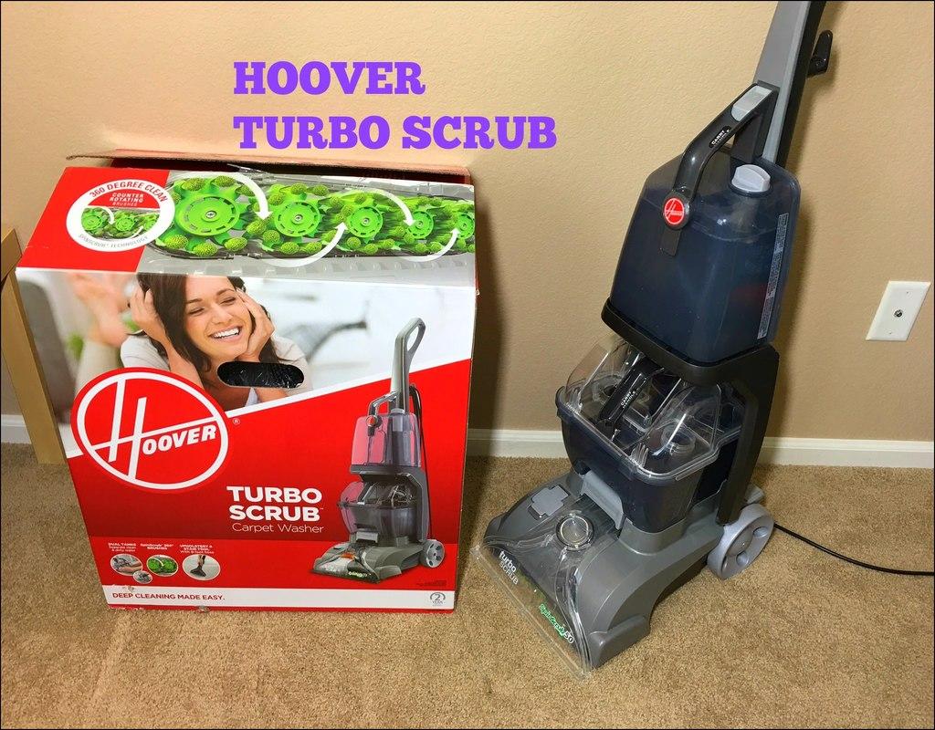 Hoover Turbo Scrub Carpet Cleaner