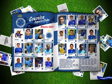 Baixe o webAlbum completo das webfigurinhas do Cruzeiro no Mineiro 2007