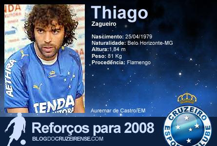 Reforços para 2008: Thiago Gosling