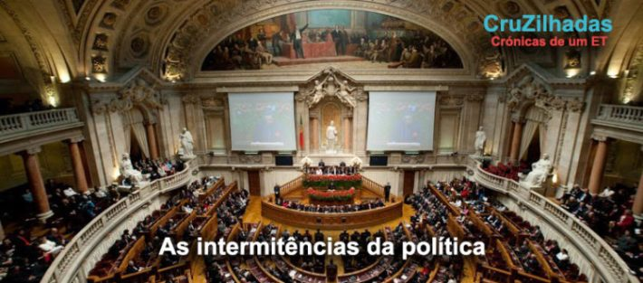 As intermitências da política - título