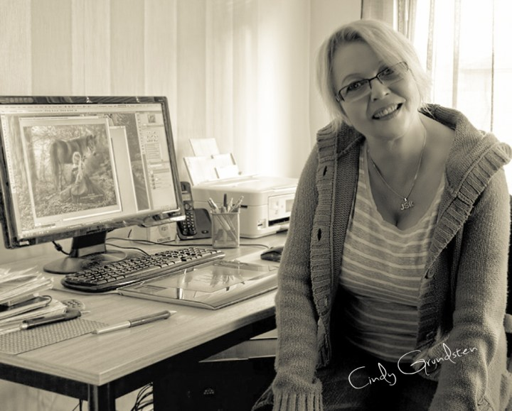 Photo of Artist Cindy Grundsten