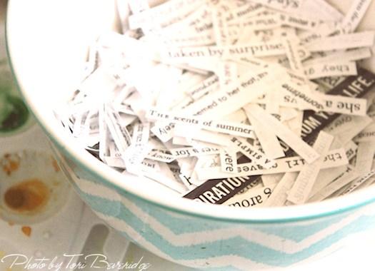 Word Bowl Photo by Tori Beveridge