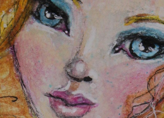 Fey Waif by Tori Beveridge CU The Face