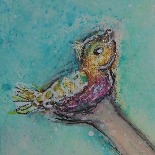 Fey Waif by Tori Beveridge Close Up of Bird
