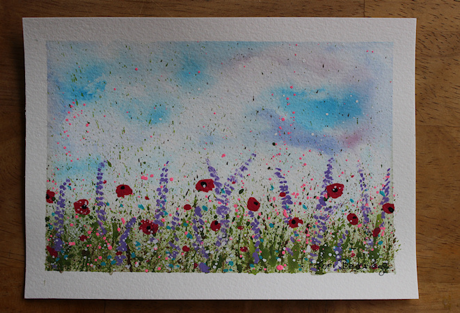 Splatter Wildflowers by Tori Beveridge5