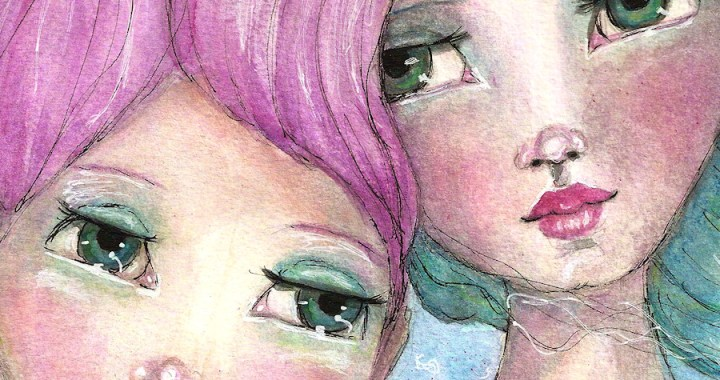 Two Girls by Tori Beveridge Featured