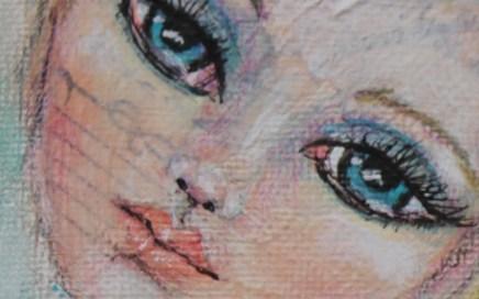 Close Up of Big Eyes