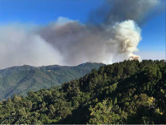 Loma Fire September 27th