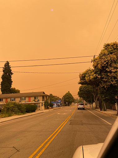 Laurel Street, Santa Cruz, Wednesday, August 19th, 2020. Photo by Hans Morales.