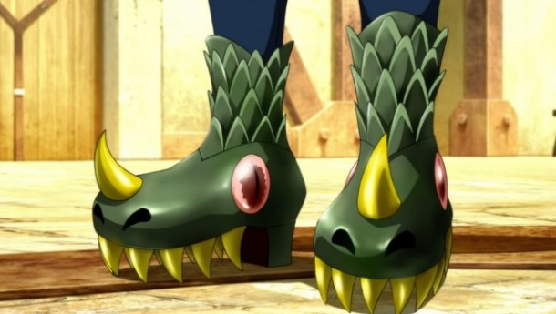 Ixion Saga DT Swag Shoes