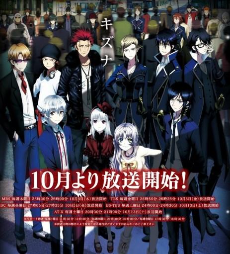 K Anime Cast