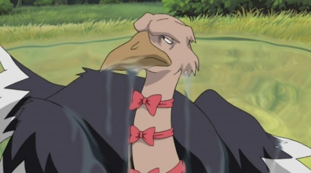 Naruto ostrich covered in jizz