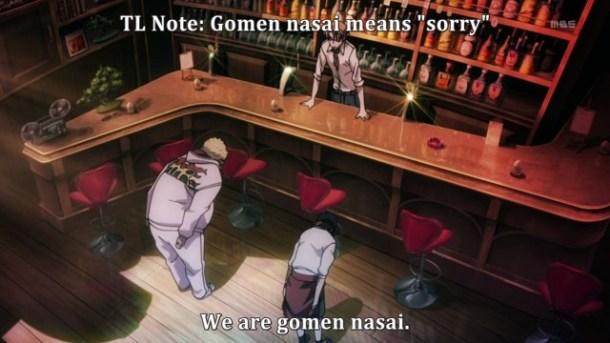 TL Note - Gomen Nasai