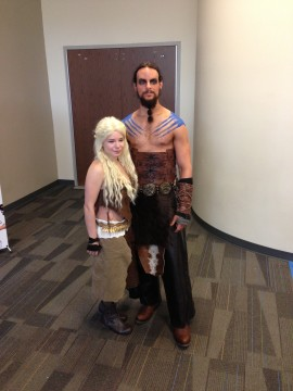 Ohayocon 2013 - Daenerys x THROGMOR - Game of Thrones
