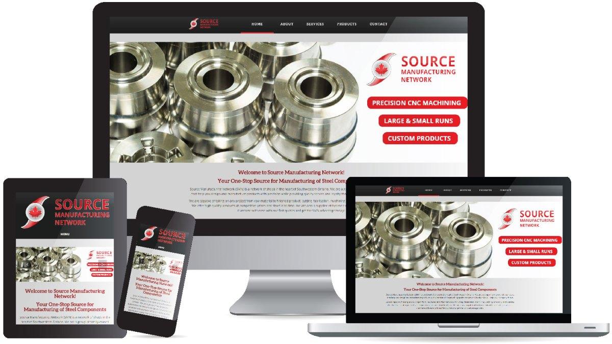 CryoDragon (Kitchener Waterloo Cambridge) Website Design Source Manufacturing Network