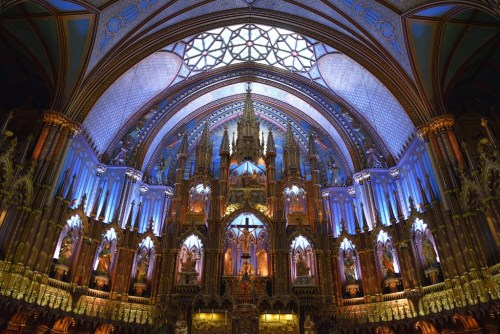 CryoDragon at Notre Dame Basilica in Old Montreal, Quebec
