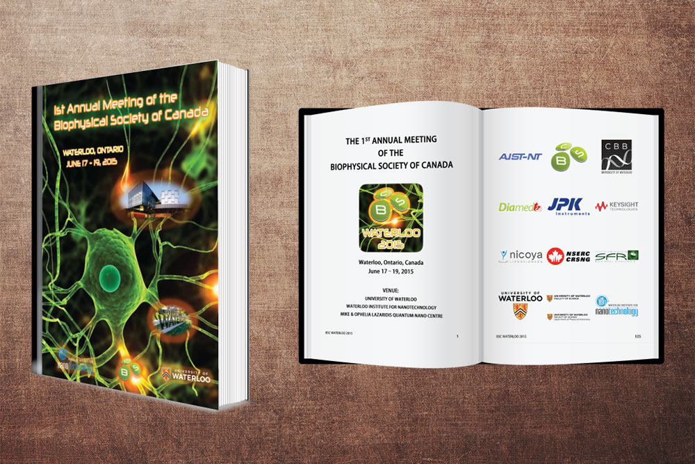 CryoDragon Print Design (Waterloo Kitchener Cambridge) BSC 2015 Program Book