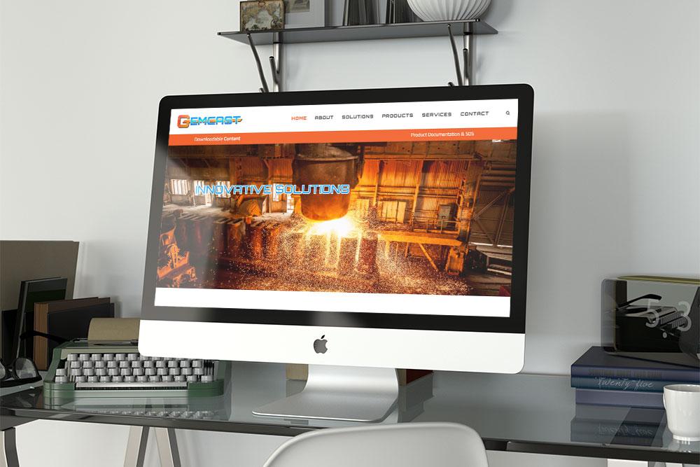 CryoDragon (Kitchener Waterloo Cambridge Website Design) Gemcast Manufacturing