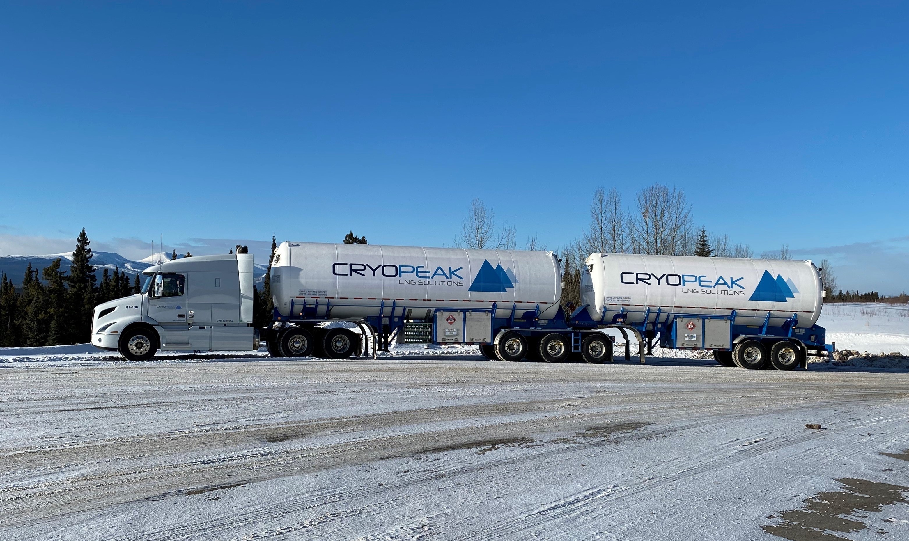 Cryopeak LNG Solutions Corporation Completes Largest Ever North American Delivery Of Liquefied Natural Gas