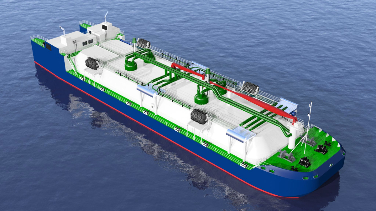 Canada's First LNG Bunker ATB Moves Ahead