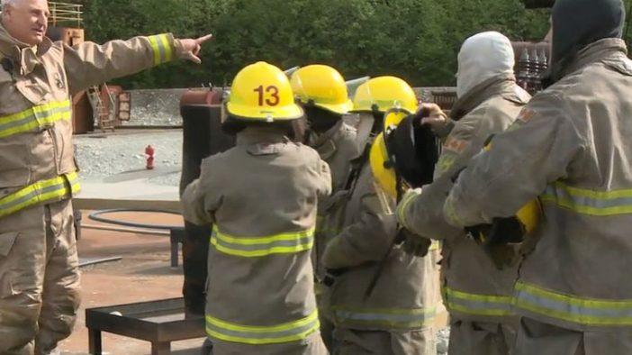 Firefighter training - mariners - LNG - Cryopeak