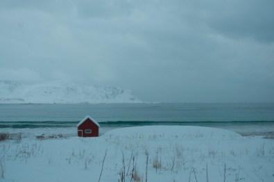Ramberg, Lofoten Islands, Norway. January 2011.