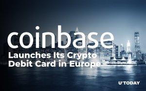 КойнБейз пуска своята крипто дебитна карта в Европа