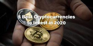 5 най-добри криптовалути, в които да инвестирате през 2020 г.
