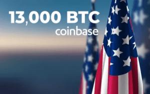 Американските институции са купили 13 000 BTC от Койнбейз при цена от $ 48 000 на монета