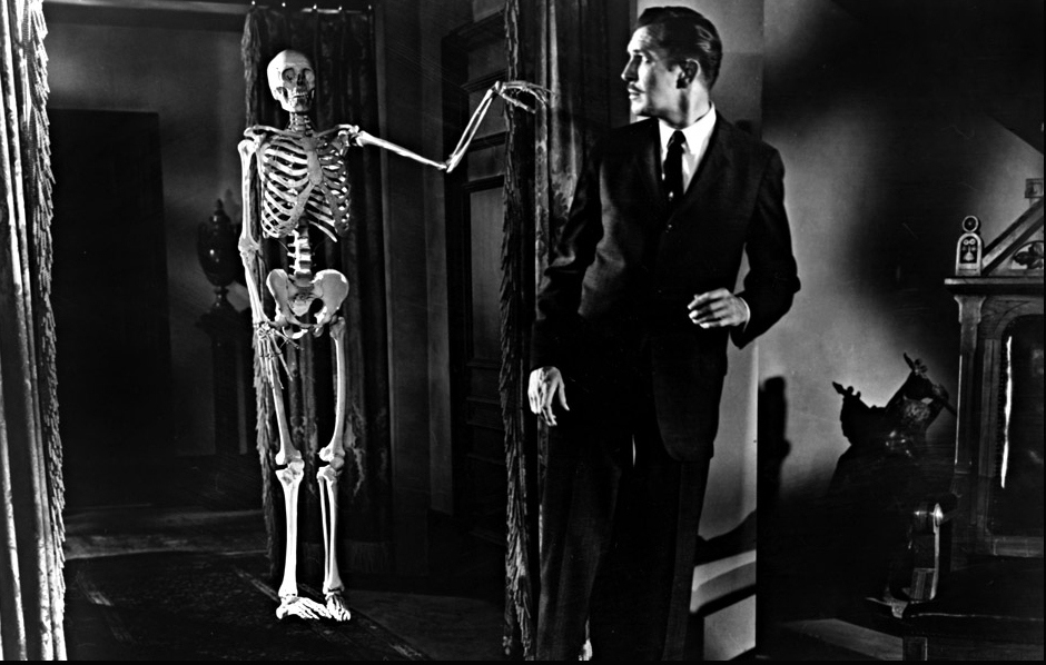 House on Haunted Hill (1959) still