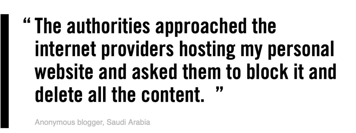 Saudi Silencing People