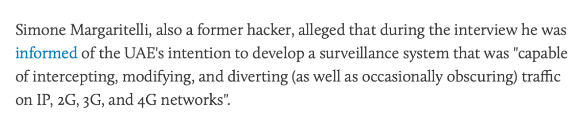 UAE Hacking Devices