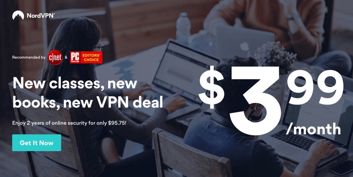NordVPN Deal 66% discount 2018