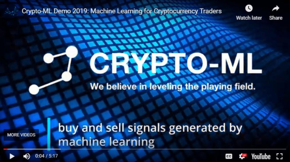 Crypto-ML Demo and Walkthrough Video - Crypto ML